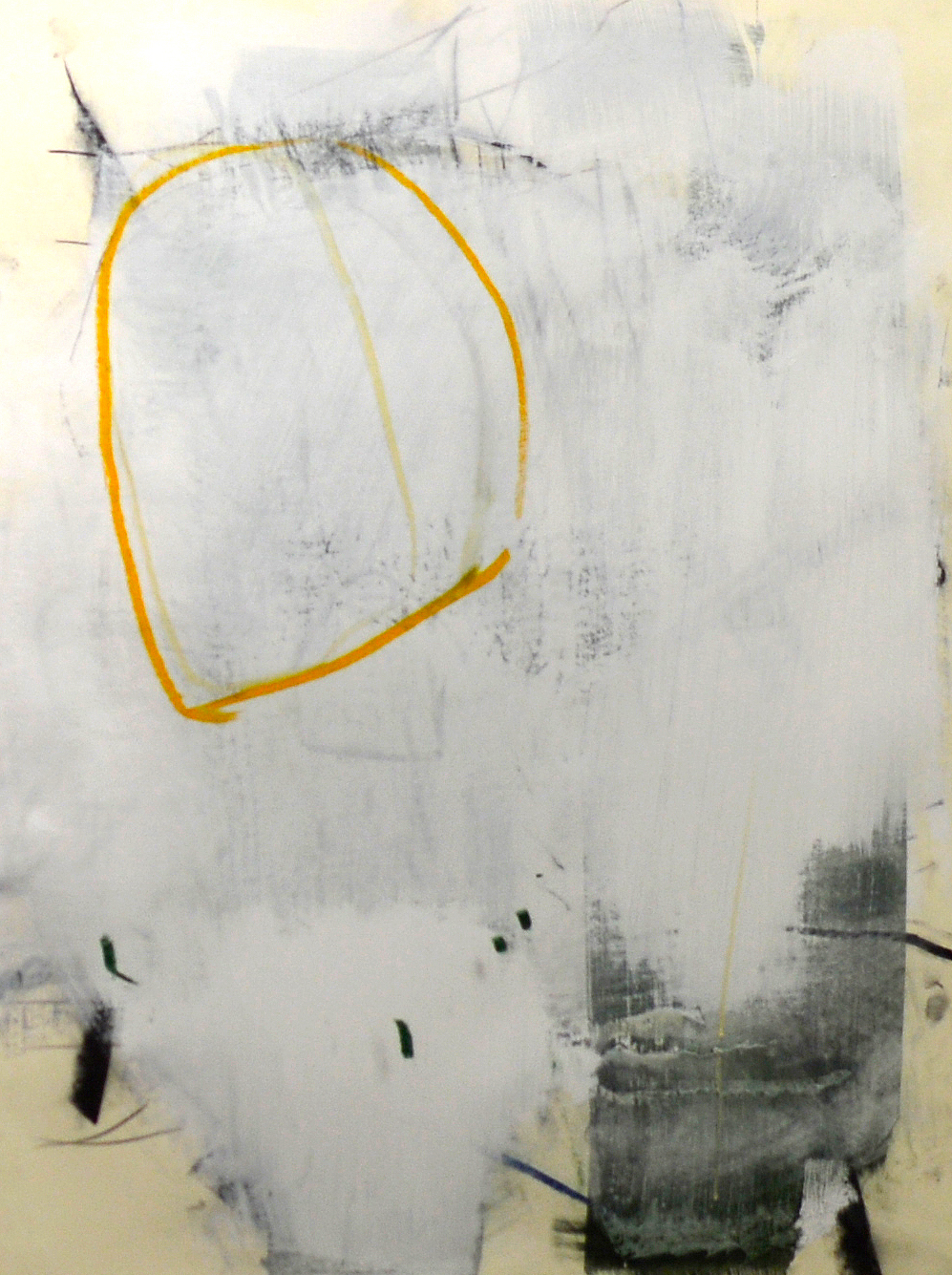 Artist: Sam Lock  Title: Work on Paper  Size: 80 x 65 cm  Medium: Oil on paper  Price: £3000