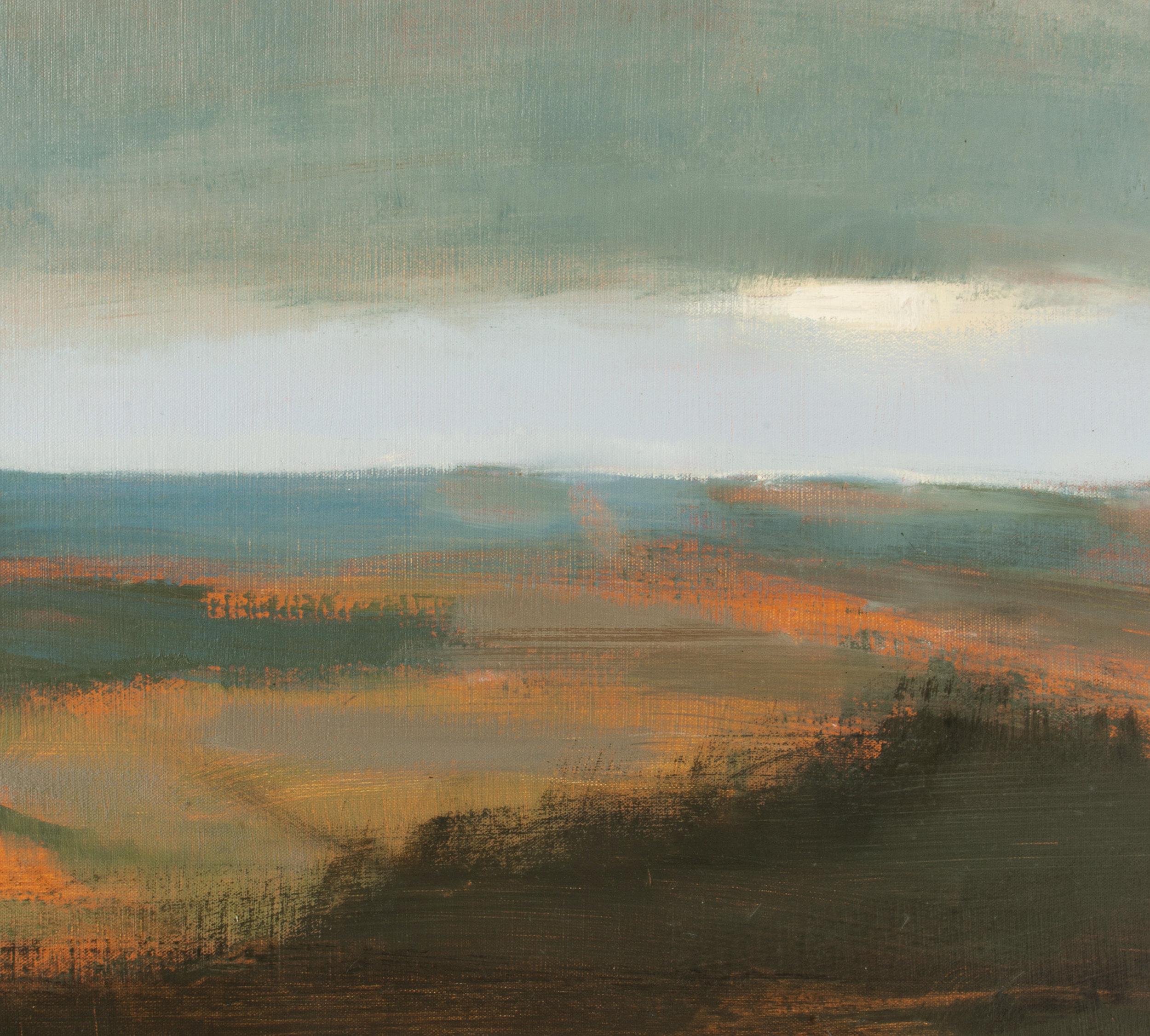 Artist: David Scott Moore  Title: Mill Hill Summer Landscape - 2019  Size: 66 x 61 cm  Medium: Oil on canvas  Price: £1400