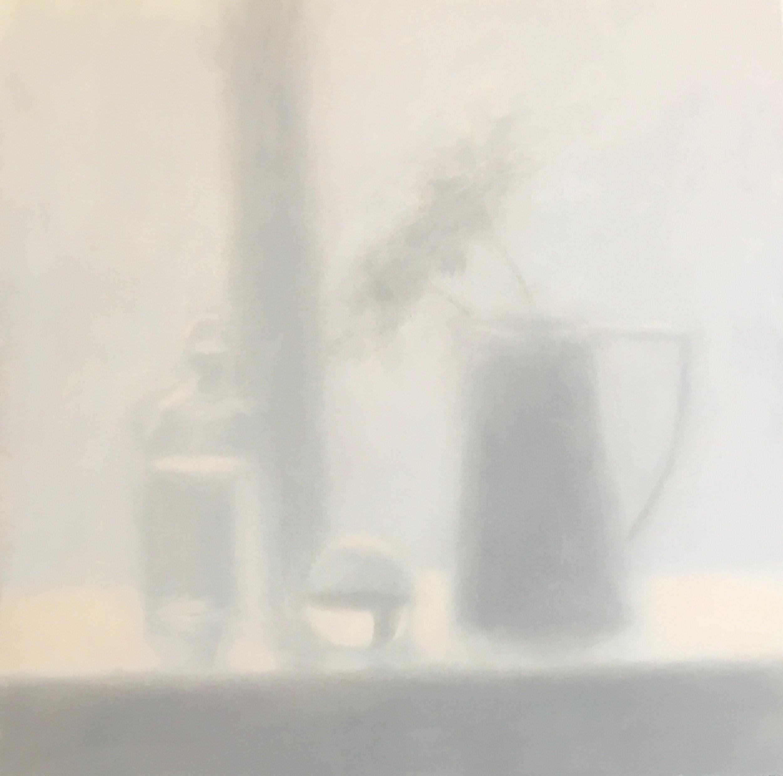 Artist: Harriet Porter  Title: Diffusion  Size: 63 x 63 cm  Medium: Oil on canvas  Price: £1700