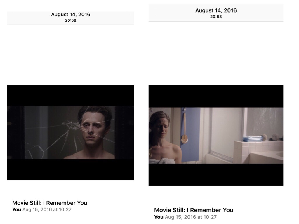 IMAGES:  I Remember You  (2015)