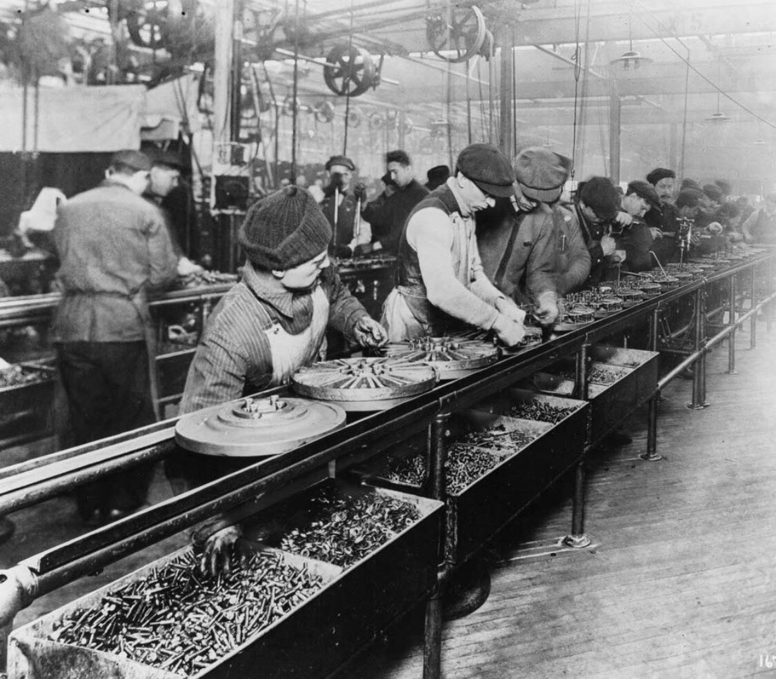 IMAGE: Ford Plant (1913) Source: Wikimedia Commons