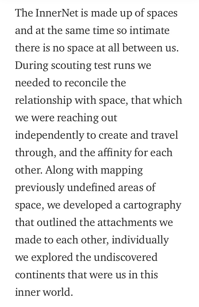 """Excerpt from """"  Scout  """" , Part 17  A Wandering Mind  (18 March 2015)"""
