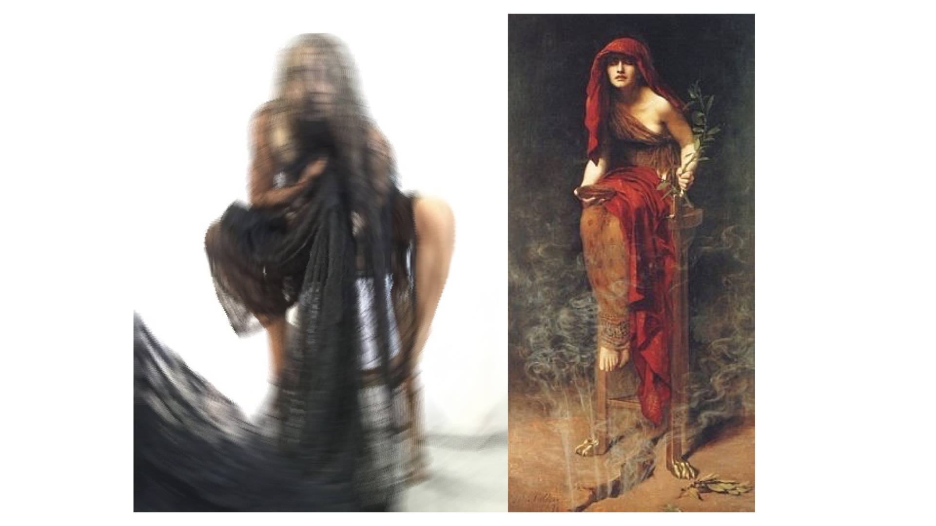 IMAGE Left: Nox from A Wandering Mind and her InnerNet ; Right: The Oracle from Greek legends