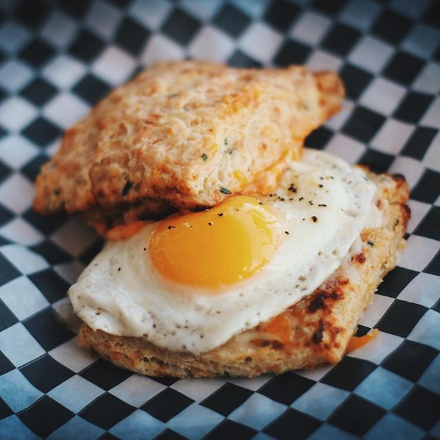 Our cheddar & chive biscuit is really making a name for itself. It takes our Oozapalooza breakfast sandwich to the next level. Come and start (or finish) your day off right.