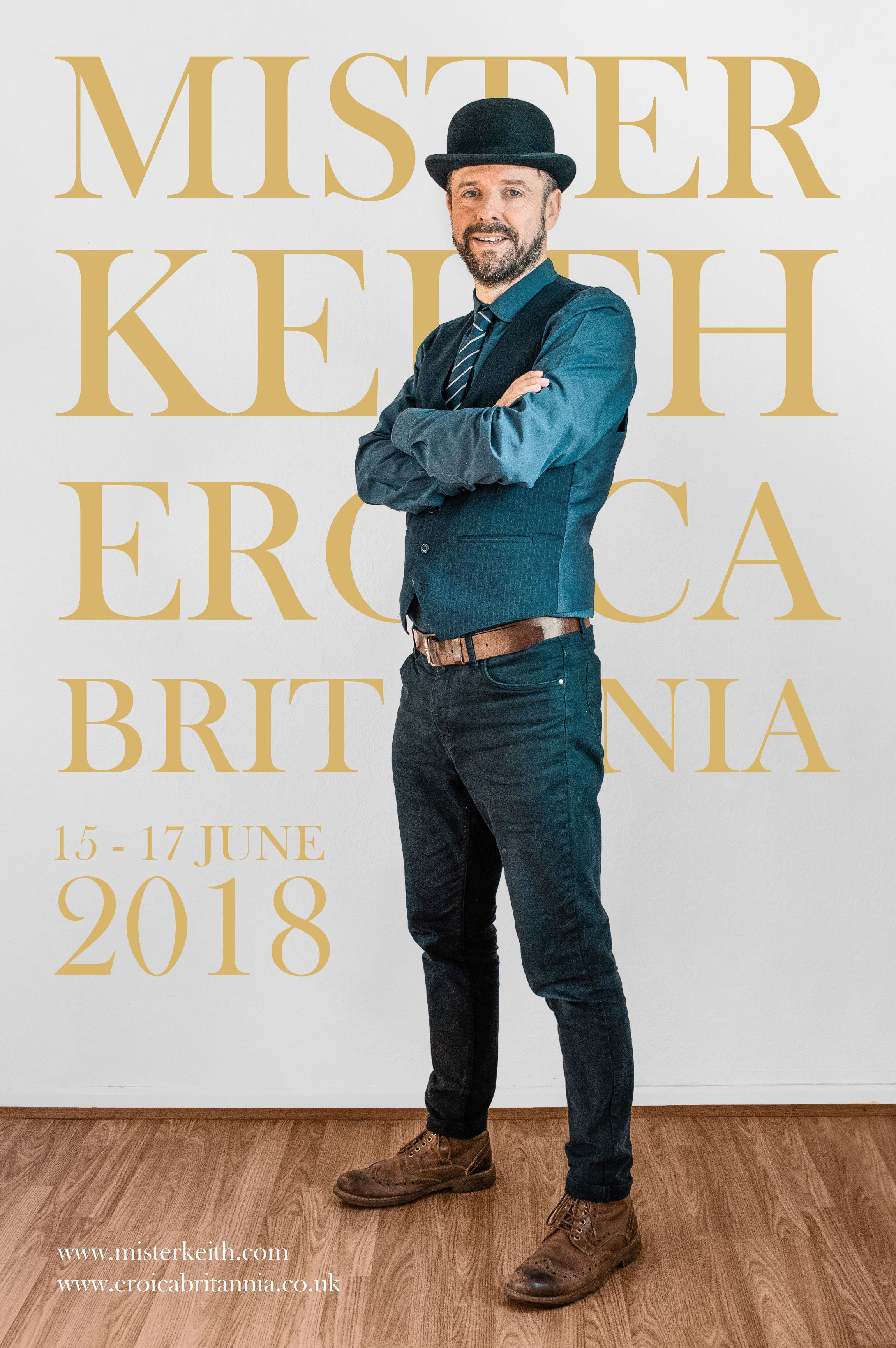 As last year, Mister Keith's performance will be one of the highlights of Eroica Britannia.
