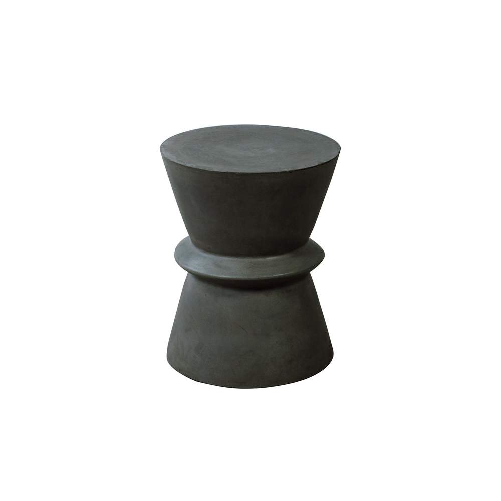 Vintage Concrete Stool - [INCOMING STOCK]  $160