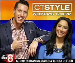 CT STYLE - Meghan Yost, news reporter for CT STYLE on Channel 8 News contacted us after reading about our Sunshine Stars pilot program. She wanted to cover a story of the Sunshine Stars for her