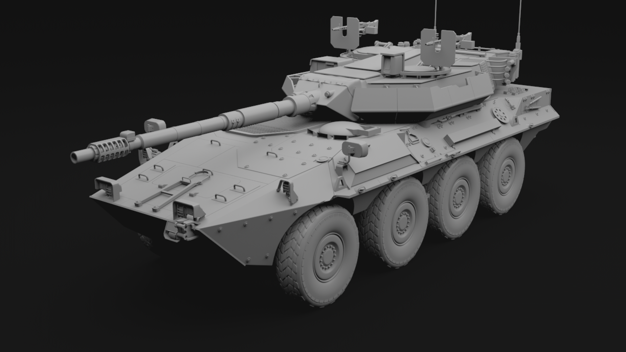 B1 Centauro Tank Destroyer Responsible for all aspects. 2015