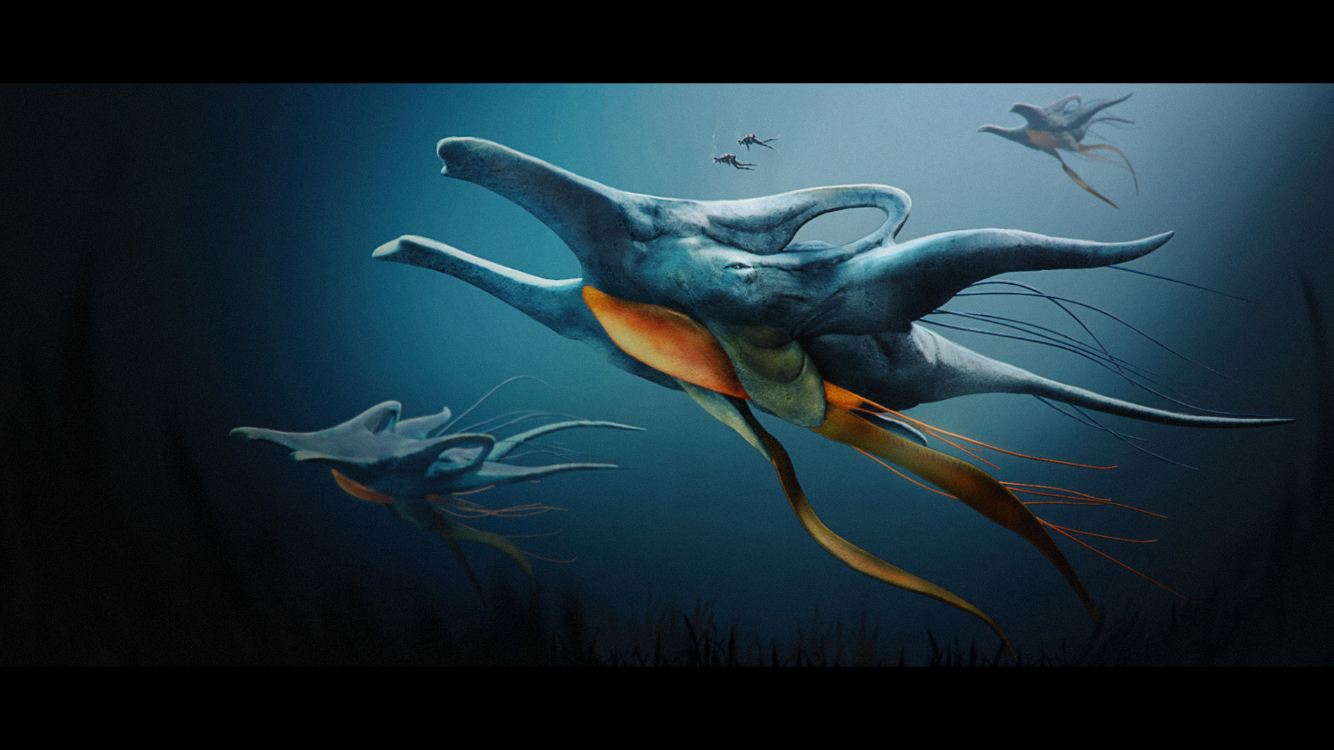 Ocean Beast  Responsible for all aspects except concept by Milan Nikoliv. 2017