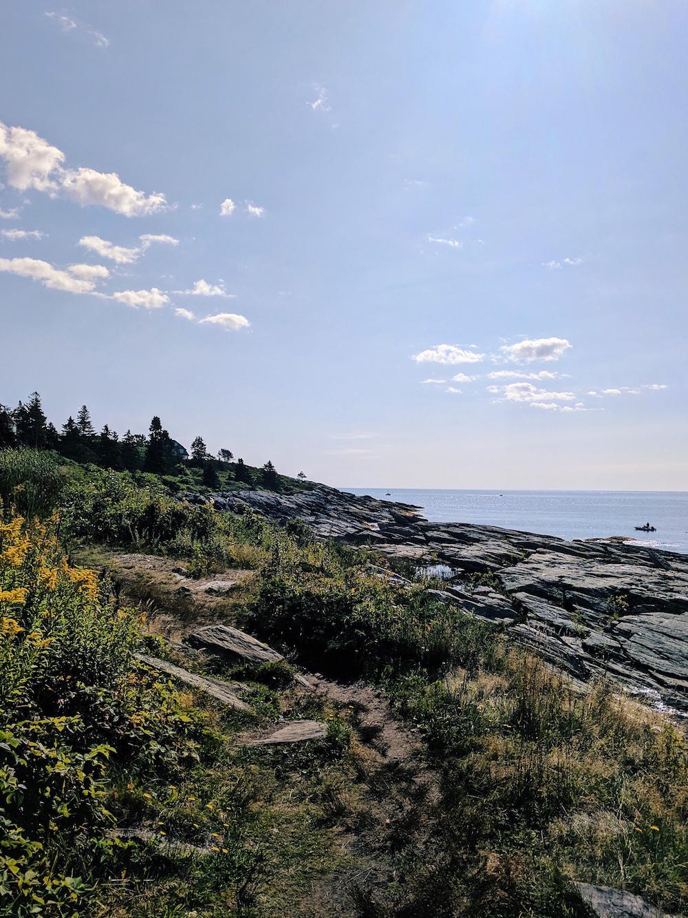 Cliff Walk, Prout's Neck, ME