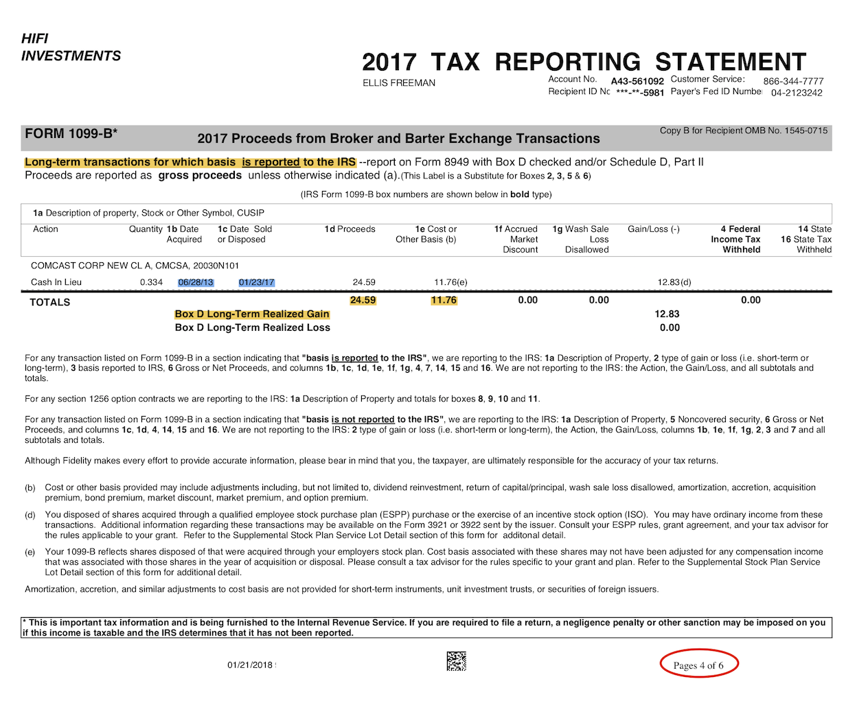 cryptocurrency tax account