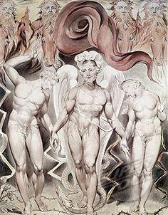 William Blake,   Expulsion from Eden