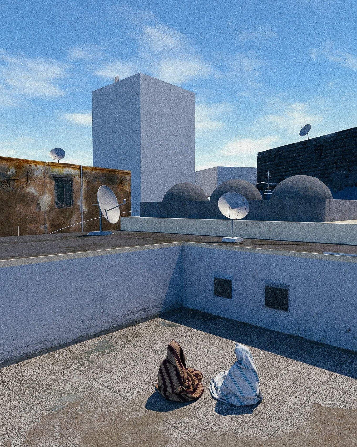 """""""Rooftop"""" by visual artist Ahmed Drebika www.drebika.ca"""