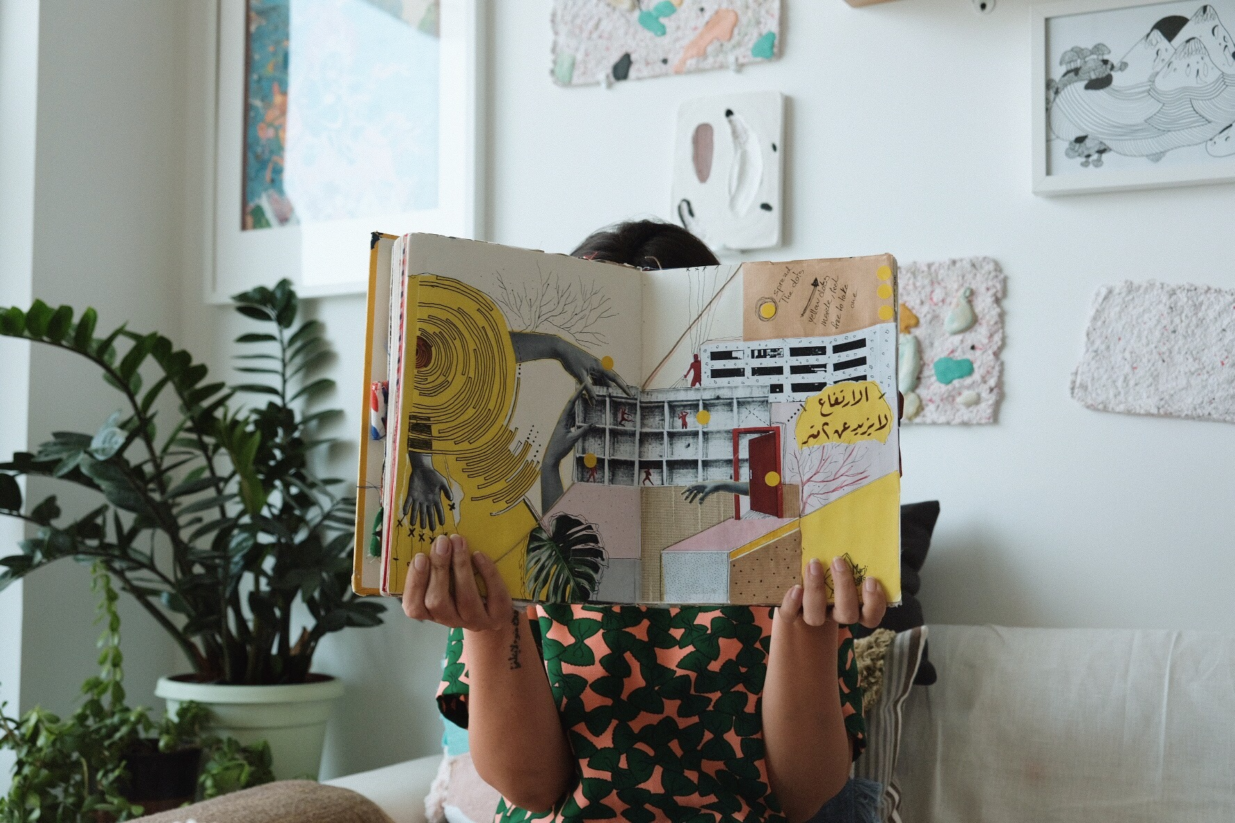 ART DUBAI Blog - Darah Ghanem, founder of follow the halo, spoke to the founders of the Middle East's first travelling sketchbook on the importance of collaboration and how their cultural identity has influenced their project. Read here.