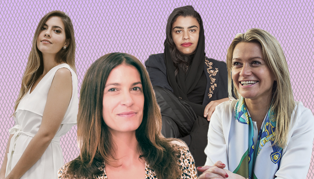 20 Women at the top of the UAE art scene - click here