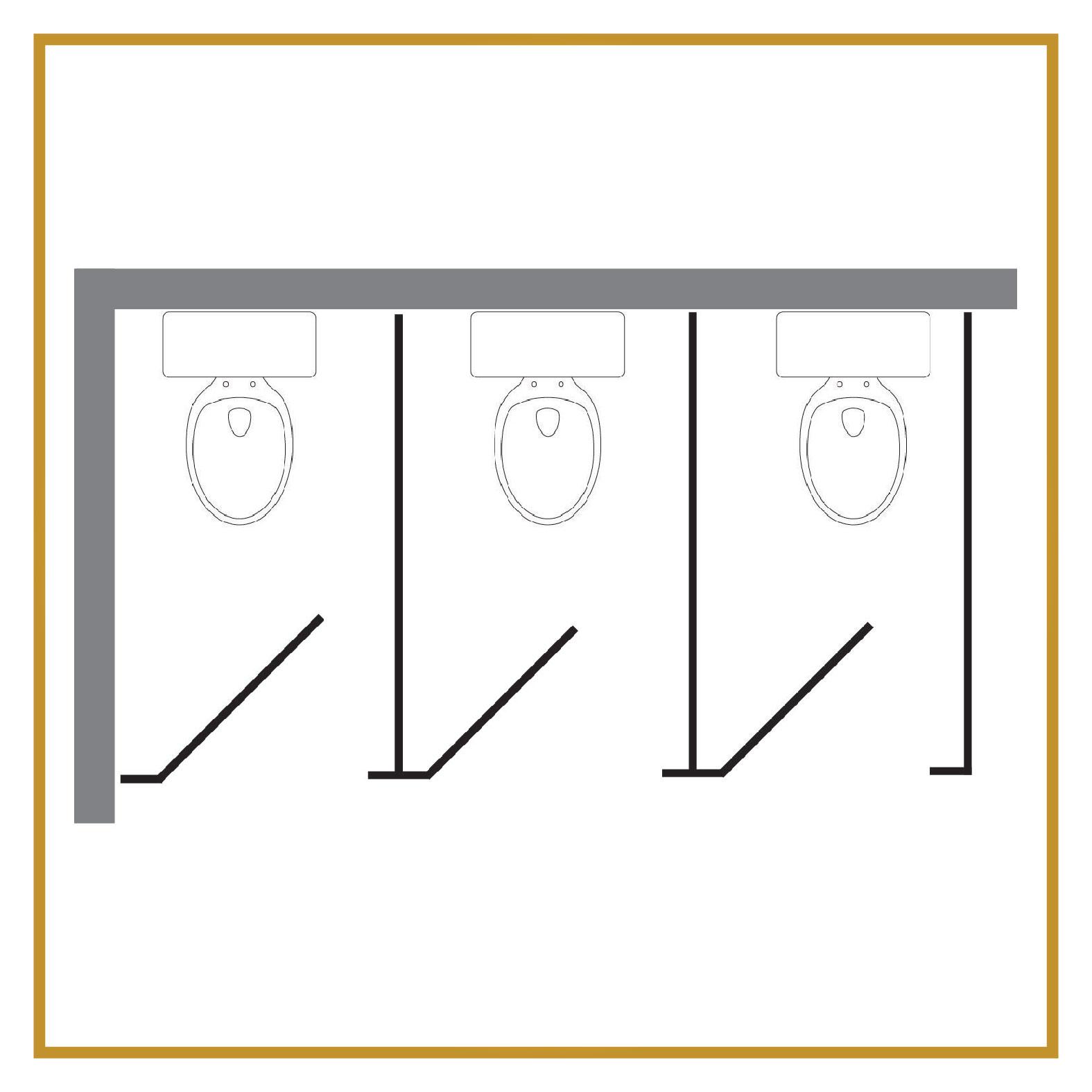 3 Regular Stalls