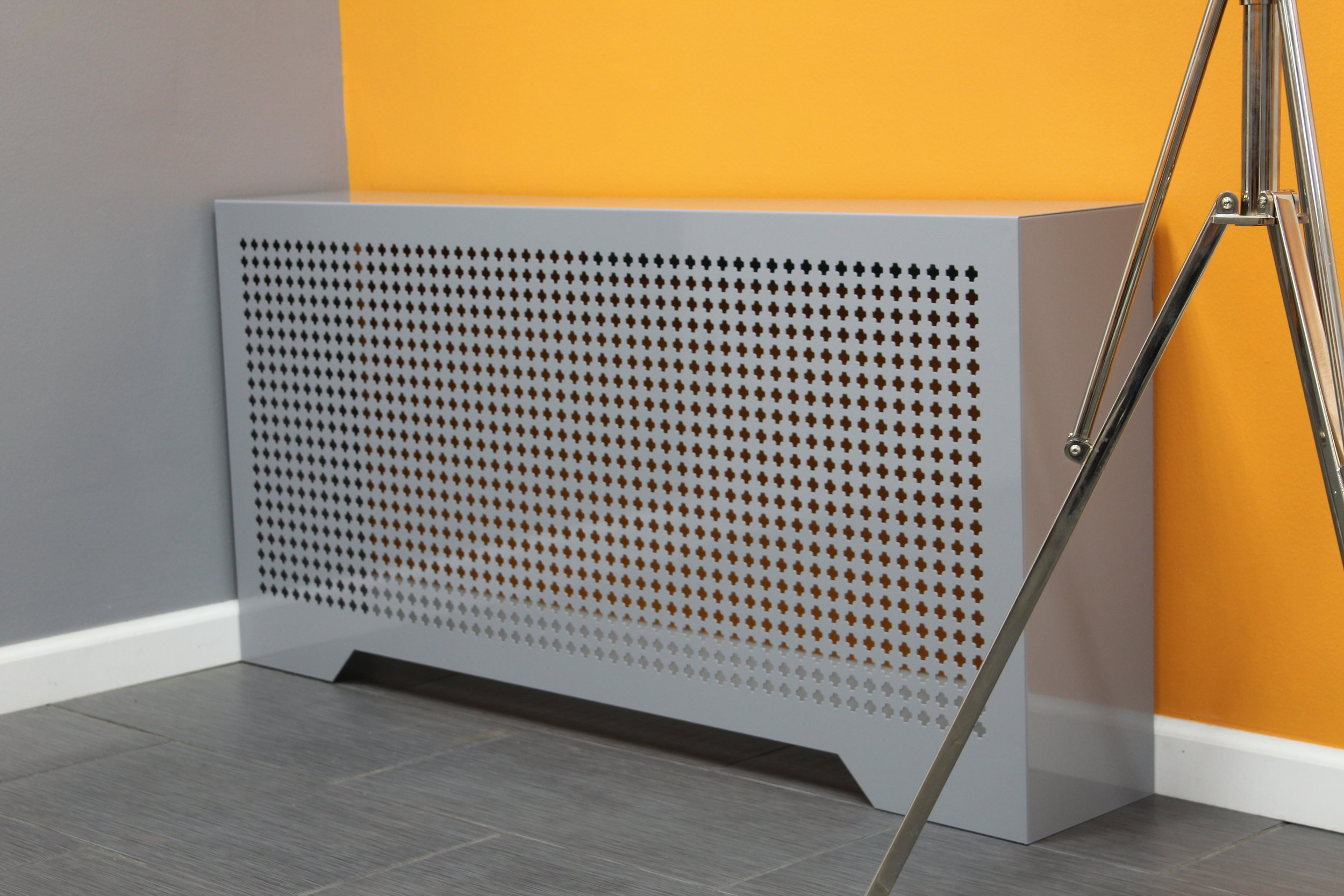 Perforated Steel Cover