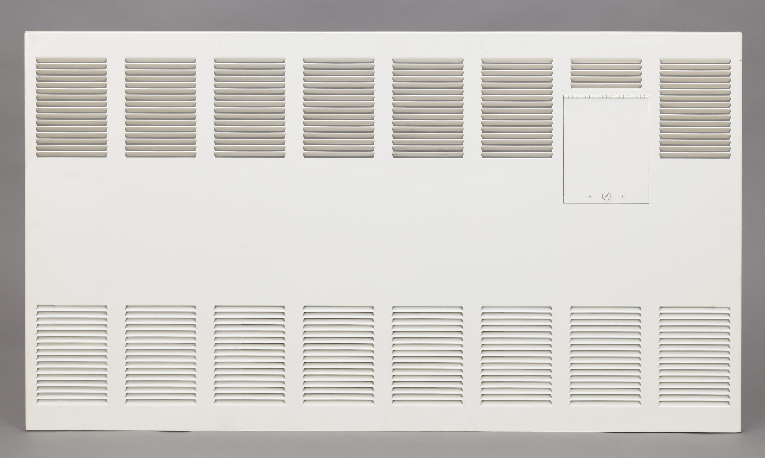 Louvered Steel Cover