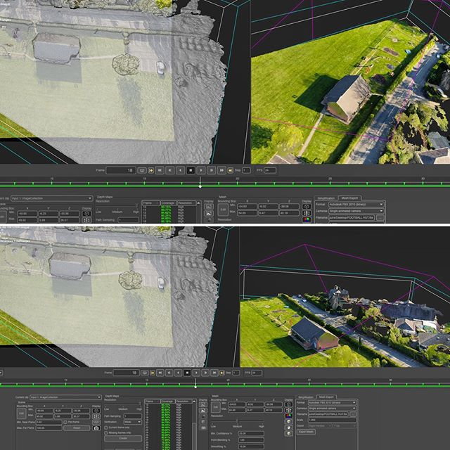 Just started pre-production on a VFX heavy project. Aerial reconstruction. #vfx #photogrammetry #agisoft #metashape #pointcloud #textures #tracking #drone #dji #mavicpro #mavicpro2 #aerial #aerialsurvey #creativedirector #director #filmmaking #arnoldrender #visualeffects #creativedirection