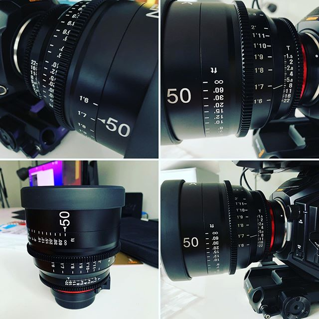 Just got our hands on a set of #xeen cinema lenses ... oh my me they're sharp!! Highly recommend #film #Blackmagic #filmmaker