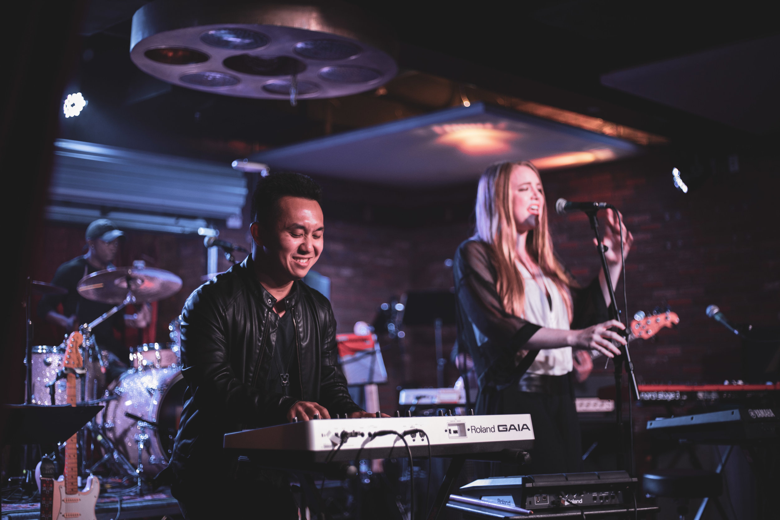 Driven by incredible sax riffs and soaring vocals, this song writing duo and their band bring their dynamic brand of pop grooves to the WAM stage for the second time.