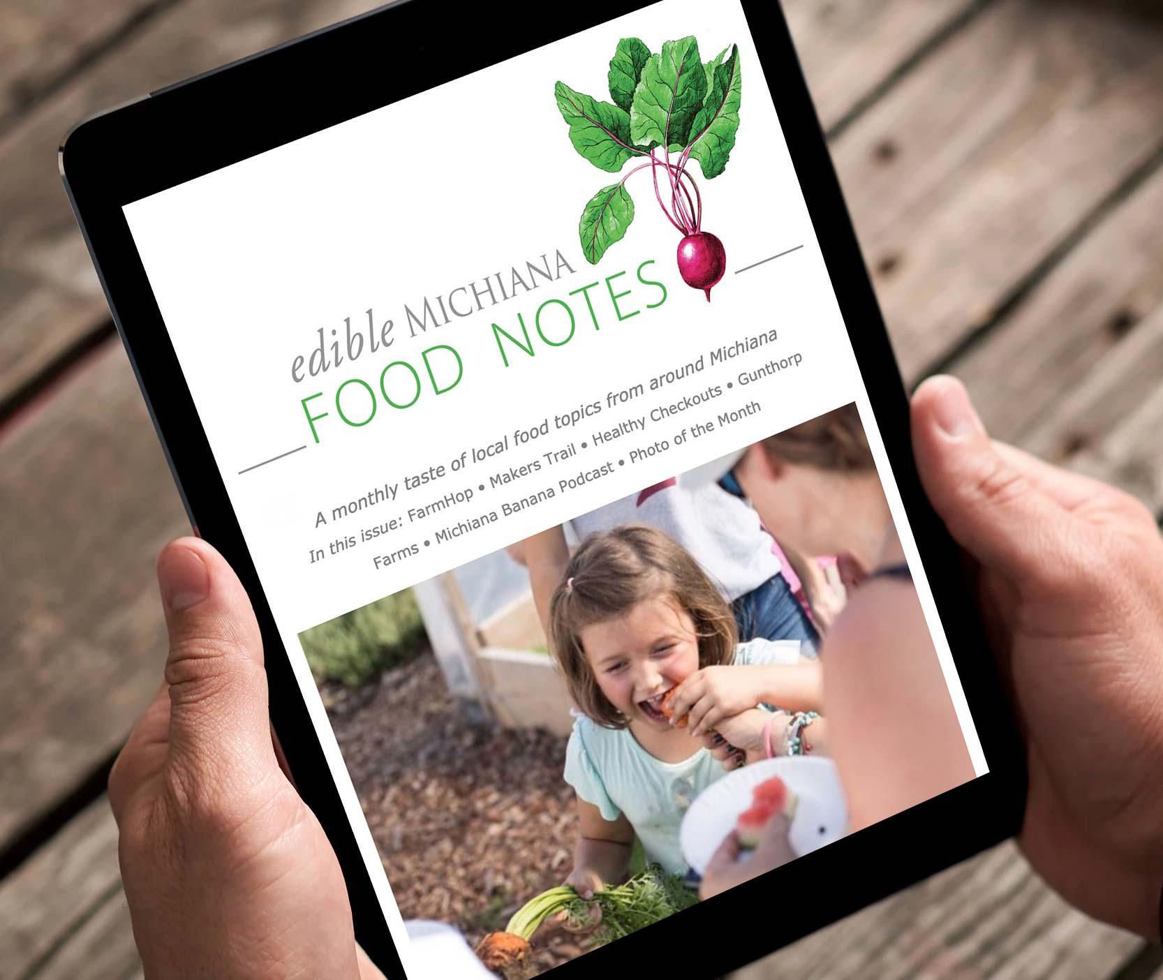 Edible Michiana Newsletter -