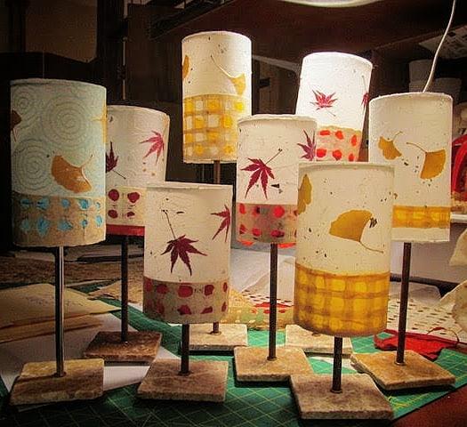 Leafy Fun, Little Candelabras.. #luminosalighting #lampshades #lampdesign #lighting #lamps #floorlamp #desklamp #lightingdesign #custommade #customlighting #decorativelighting #homedecor #decor #decorinspiration #decorideas #lighting_design #candelabra #craftlamp #artlamp #colorful #lampshadedesign #lamps #artisansonmain #weavervillenc #wnc #naturalmaterials #natureindoors #naturalfibers #handcrafted #handmade #nature