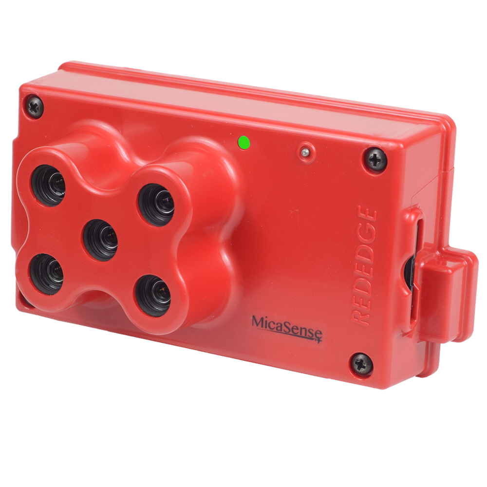 Learn more about the MicaSense RedEdge sensor.
