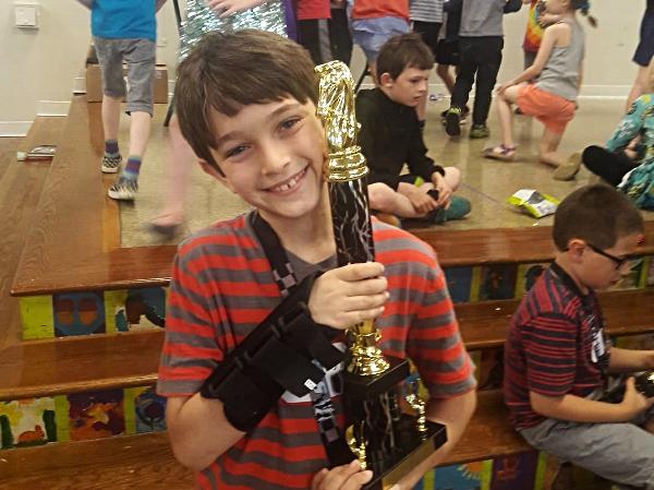 2nd-3rd grade winner, Jeremy Oppenzato