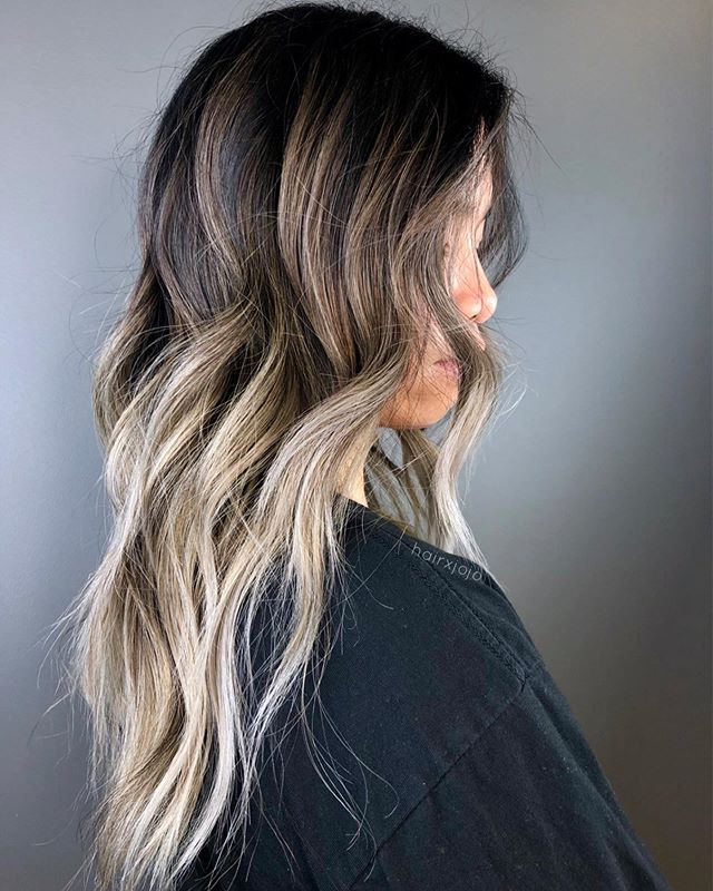 B E T T Y 👑✨ A smooth gradient of color for this gem 💕 can't wait for our next session! #HAIRXJOJO #HAIRBYJOANNECHUNG #latergram