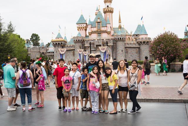 English camp at Disney