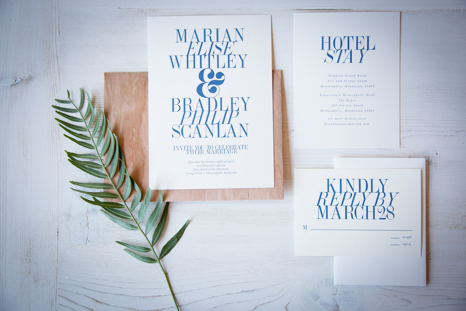04-modern-wedding-invitation-suite-blue-type-typography-mahonen-photography.jpg