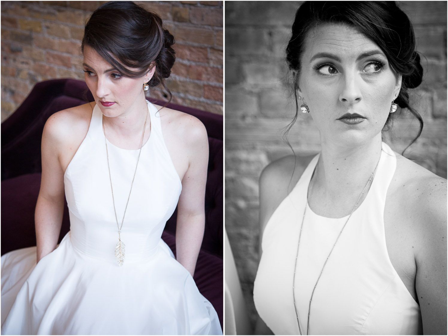 09-bride-halter-bridal-gown-black-and-white-brick-wall-loring-social-minneapolis-mahonen-photography.jpg