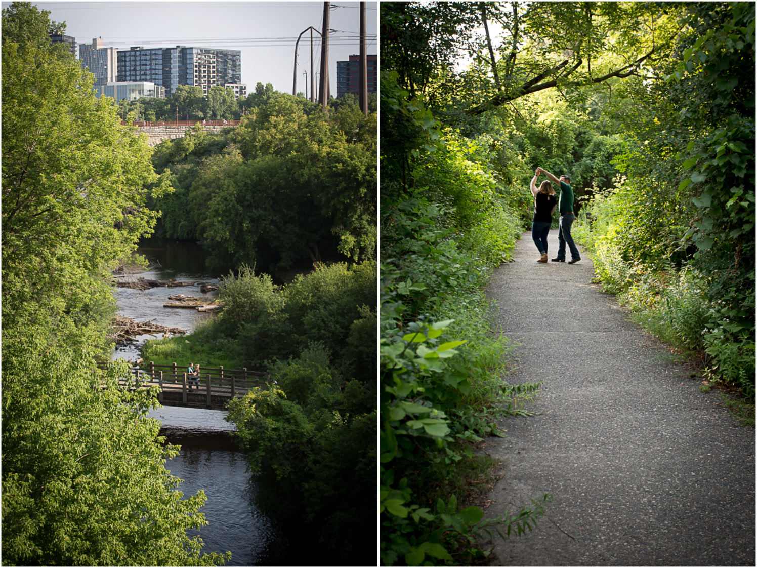 02-minneapolis-engagement-photographer-trail-golden-hour-bridge-mississippi-river-mahonen-photography.jpg