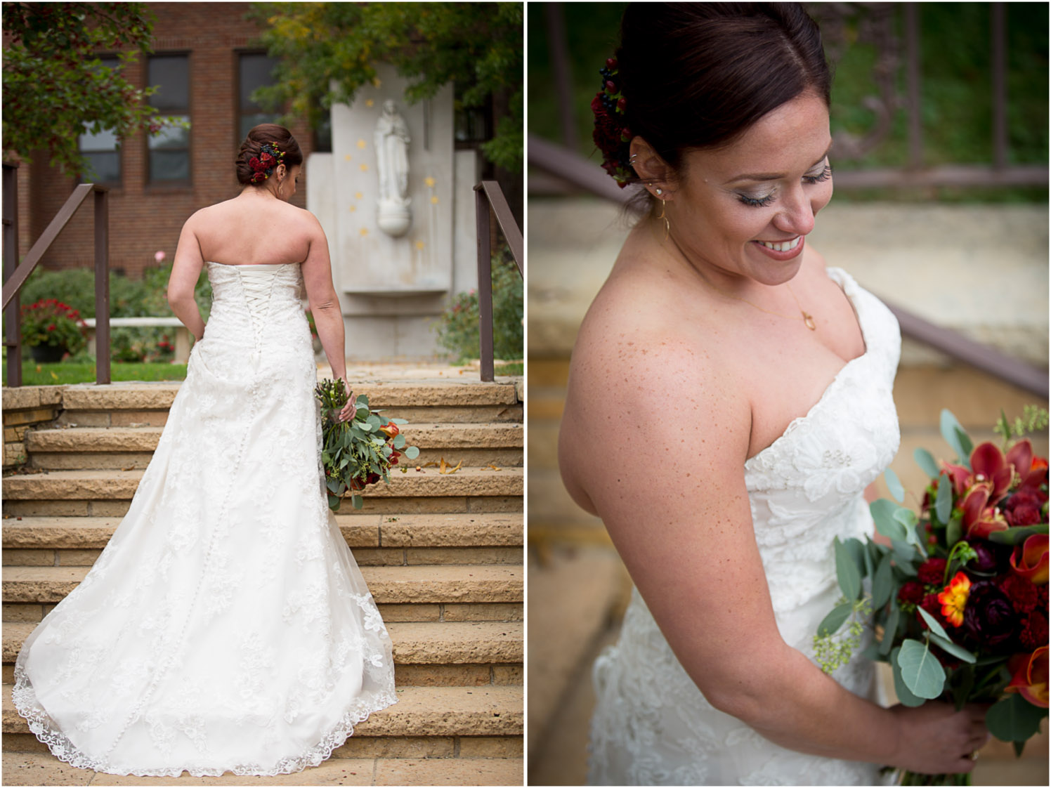 11-relaxed-fun-casual-bridal-portraits-back-of-the-dress-mn-fall-colors-wedding-photographer-mahonen-photography.jpg