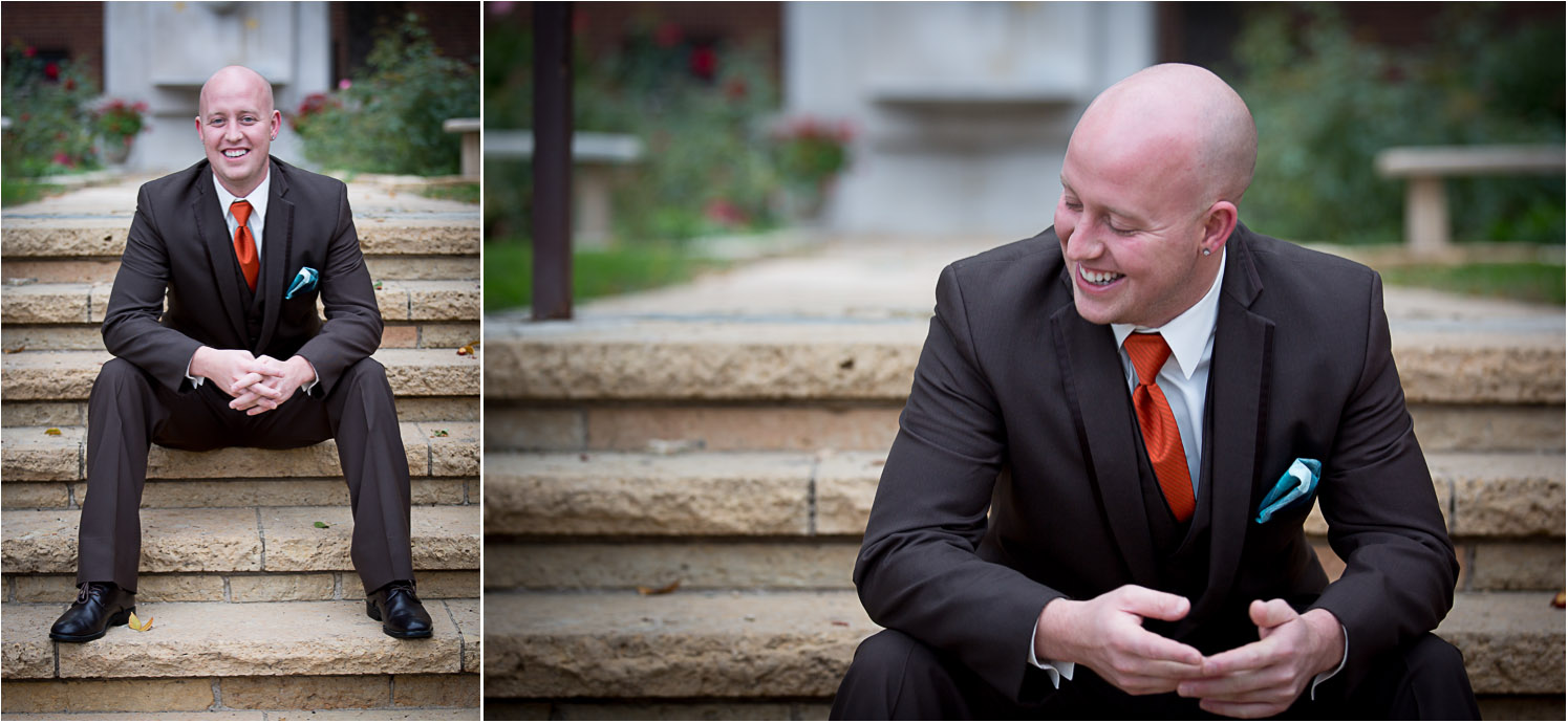 12-relaxed-fun-casual-groom-portraitsbrown-suit-orange-tie-turquois-pocket-square-mn-fall-colors-wedding-photographer-mahonen-photography.jpg