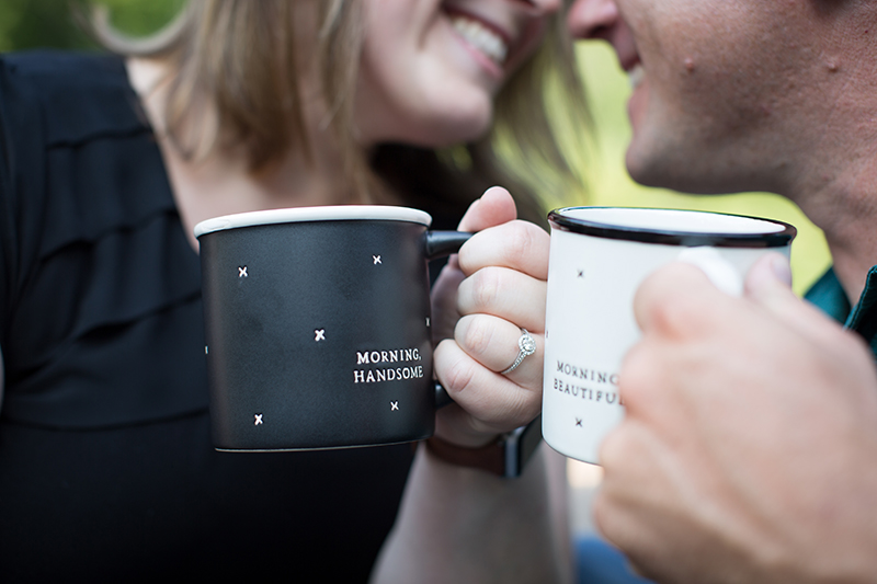 Now that's just plain adorable, and an easy addition to bring to your engagement session!