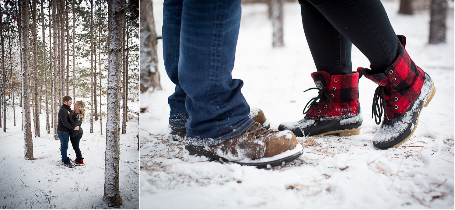 01-bunker-hill-regional-park-winter-wonderland-minnesota-engagement-photographer-tall-pines-red-plaid-boots-snowy-day-mahonen-photography.jpg