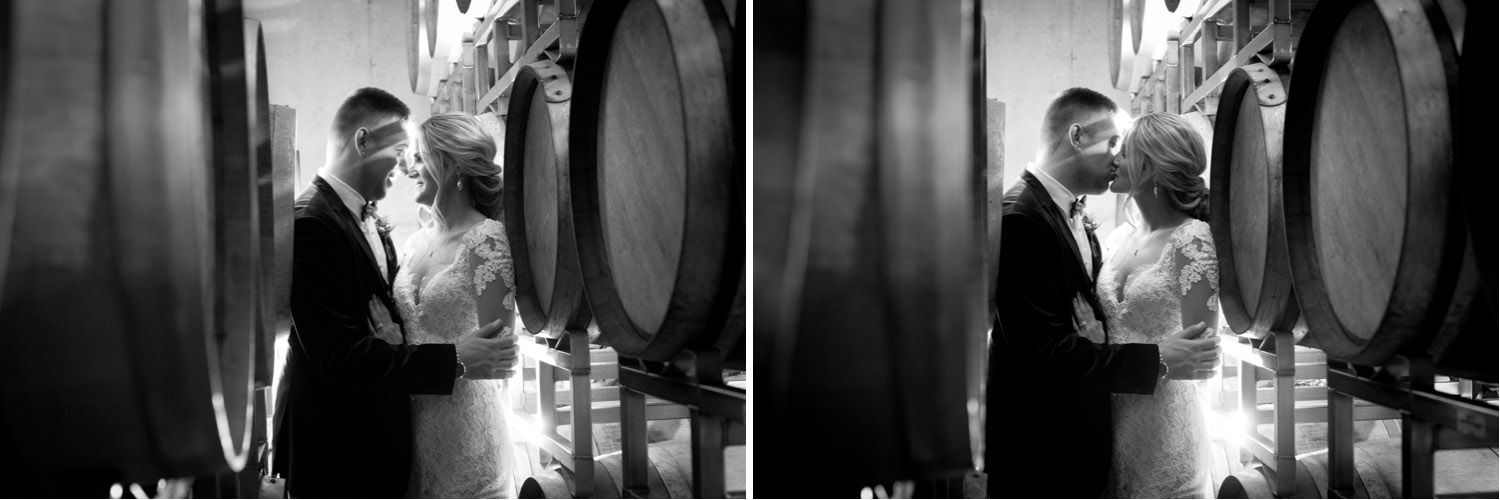 12-seven-vineyard-winery-dellwood-minnesota-winter-wedding-bride-groom-casual-fun-portraits-wine-barrels-mahonen-photography.jpg