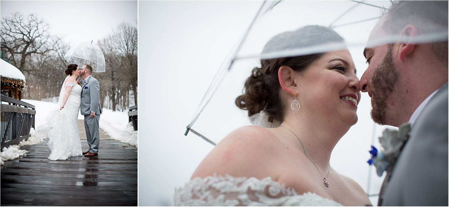 13-eagan-community-center-weddings-minnesota-winter-rain-wedding-bride-groom-portraits-clear-umbrella-mahonen-photography.jpg