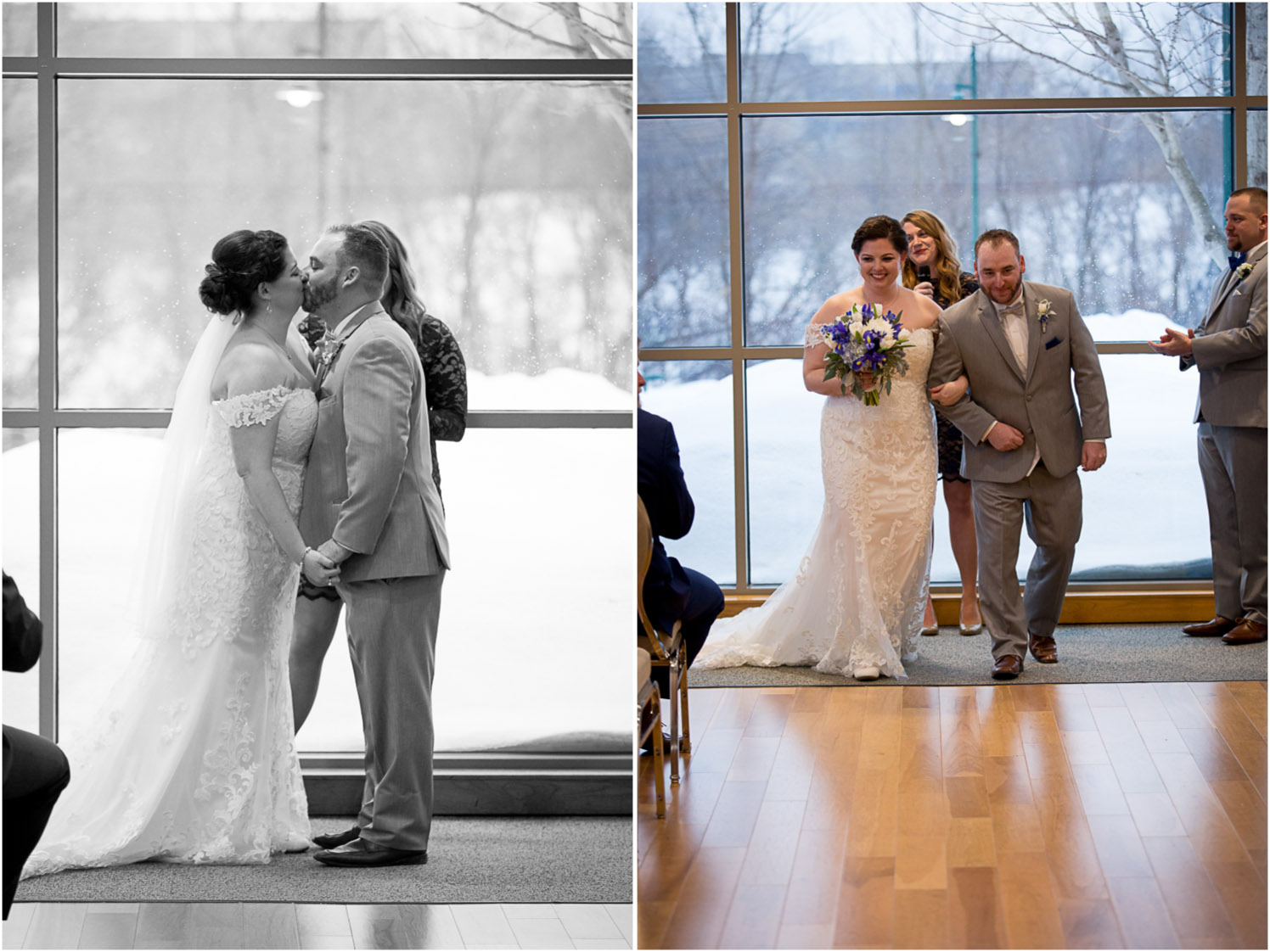 19-eagan-community-center-weddings-minnesota-winter-rain-wedding-ceremony-first-kiss-mahonen-photography.jpg