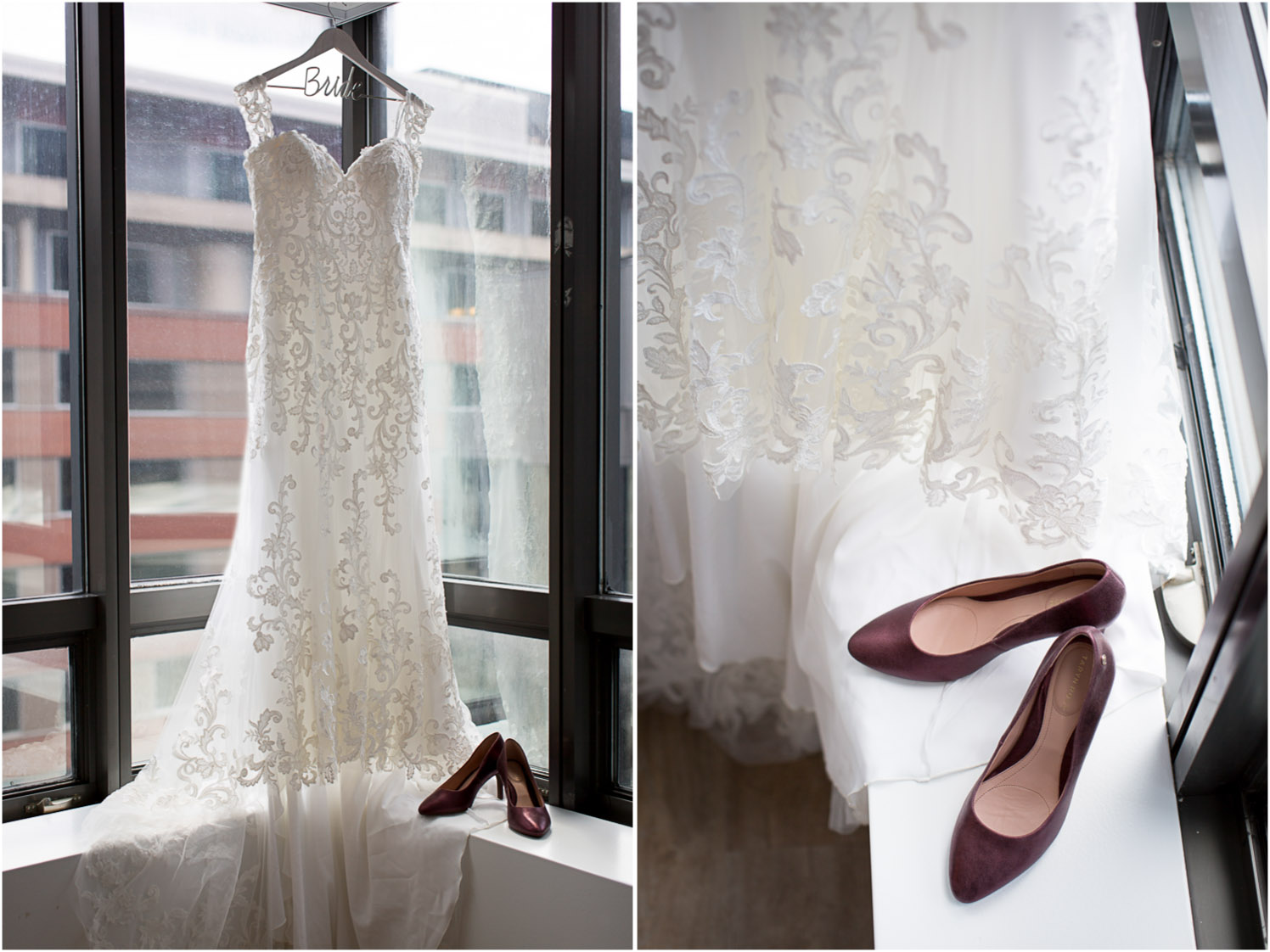 01-windows-on-mn-minneapolis-ids-tower-weddings-wedding-day-details-lace-gown-maroon-heels-mahonenphotography.jpg