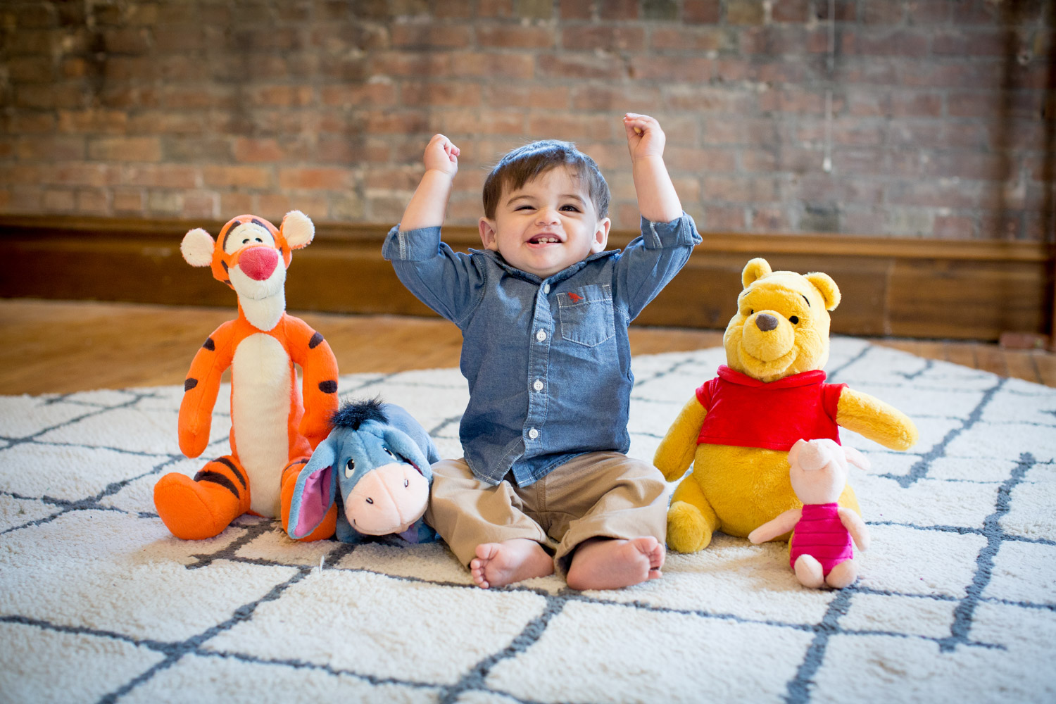 04-cornerstone-studios-portrait-session-baby-boy-one-whinnie-the-pooh-plush-line-up-joy-mahonen-photography.jpg