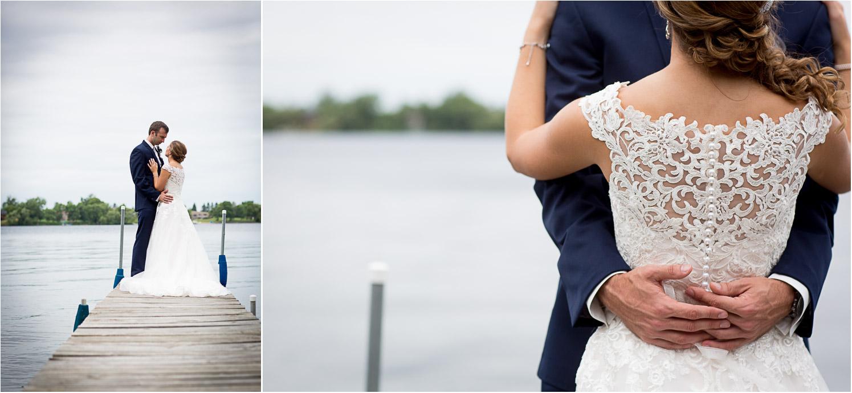 08-northern-minnesota-summer-lake-wedding-cabin-lace-back-wedding-bride-groom-dock-mahonen-photography.jpg