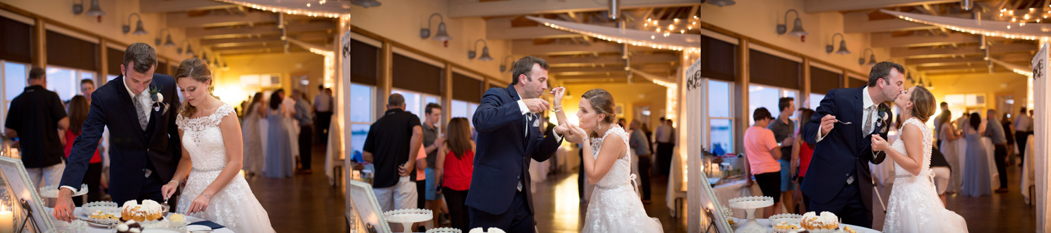 21-northern-minnesota-summer-lake-wedding-cake-cutting-bride-groom-lakeside-chophouse-mahonen-photography.jpg