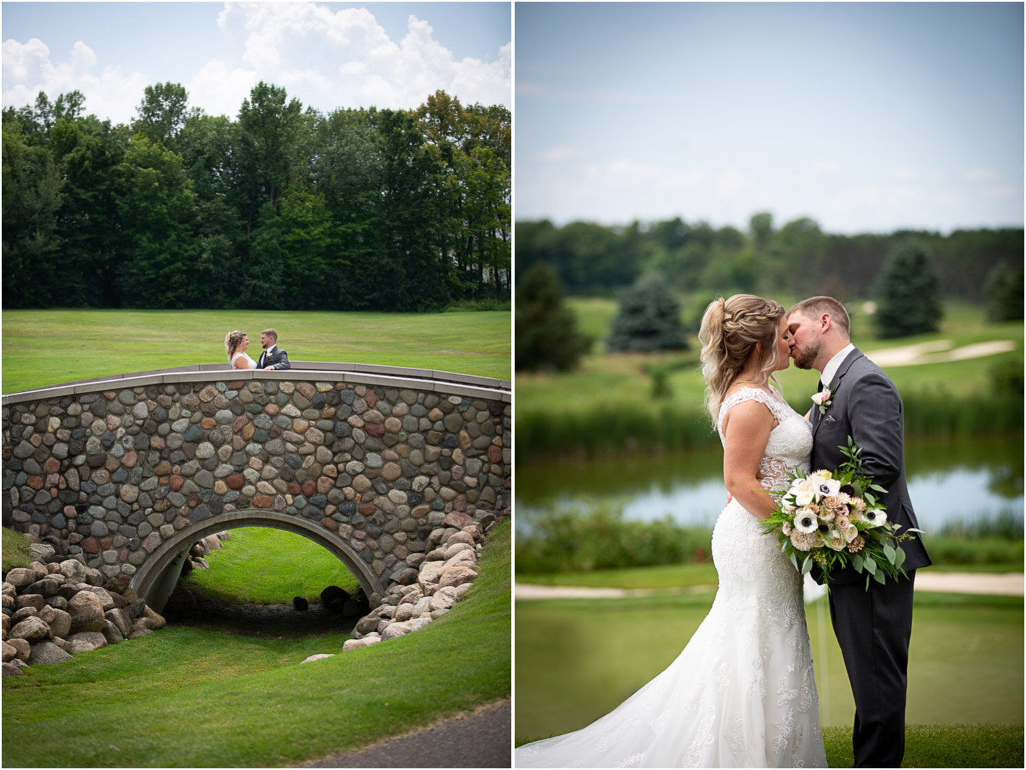 13-rush-creek-golf-course-bride-groom-portrait-outside-path-mahonenphotography-mn-wedding-photographer.jpg