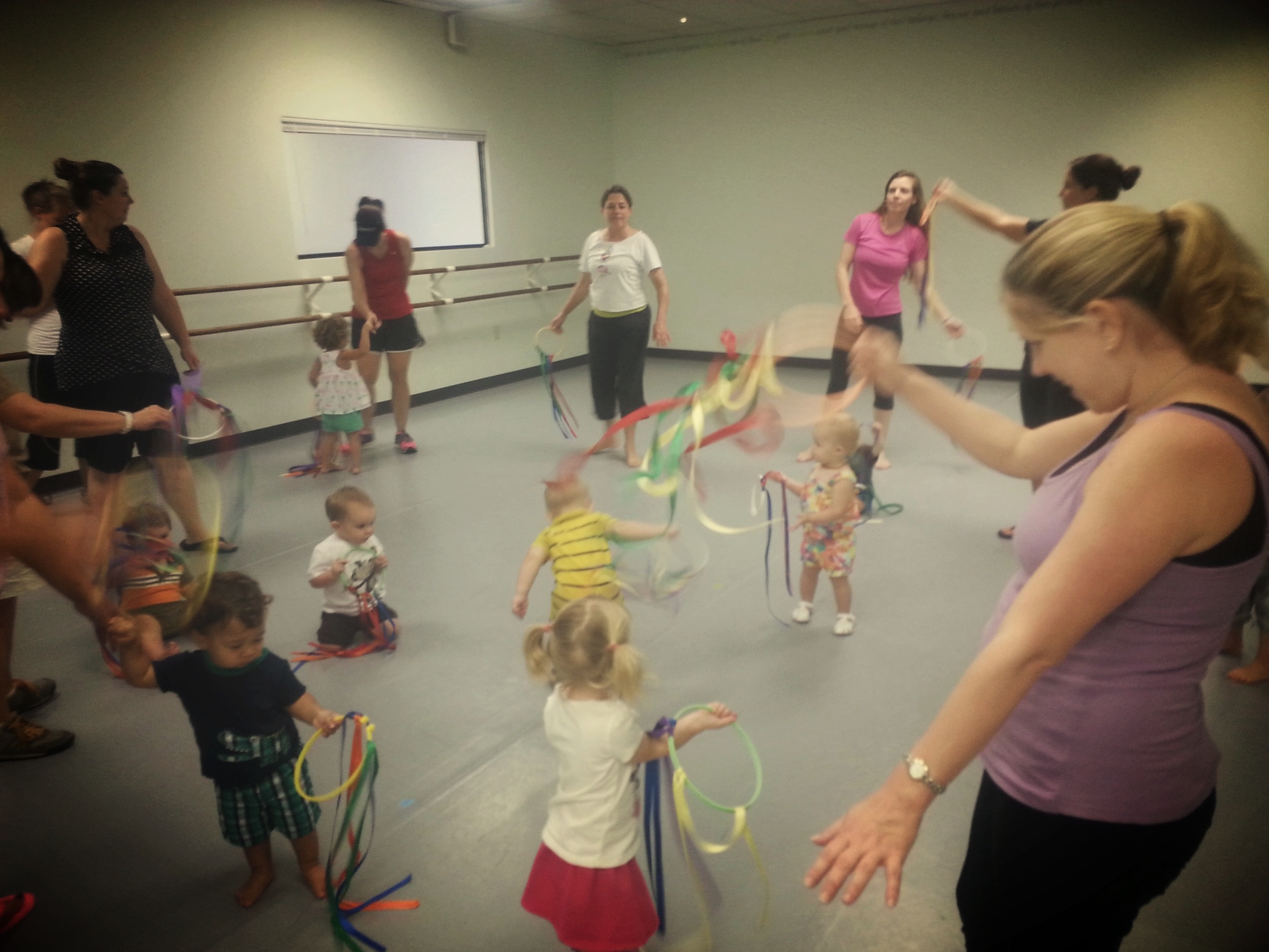 Mommy and Me Dance Classes for Kids in Bryan College Station Texas