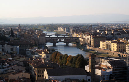 Kim Weston - Gina Weston in Florence Italy