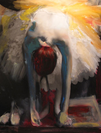 Kim Weston - The Painted Photograph Show - Ballerina