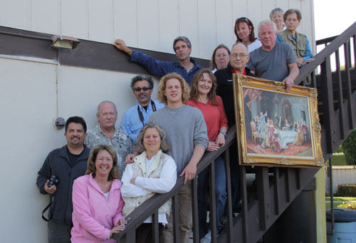 2012 Weston San Juan Bautista Mission Photography Class Picture